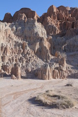 Cathedral Gorge, Nevada