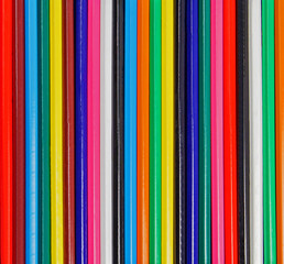 Stripes and Color - pencil crayon background texture / abstract.