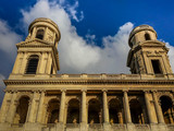 St. Sulpice Church in Paris - 73698284