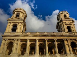 St. Sulpice Church in Paris