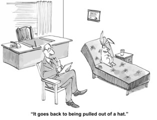 """It goes back to being pulled out of a hat."""