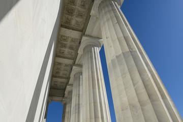 Pillars at Lincoln Memorial