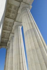 Pillars at Lincoln Memorial