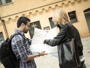 Tourist asks for information