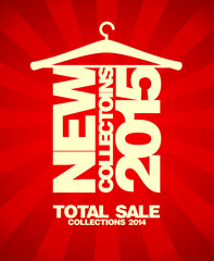New collections 2015, sale collections 2014.