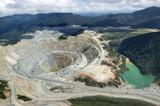 Open-pit copper mine