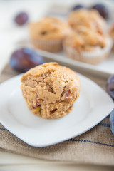 Pflaumen Muffins