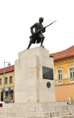 Brasov unknown soldier statue