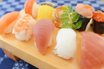 美味しそうな握り寿司