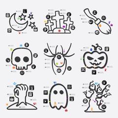 halloween infographic