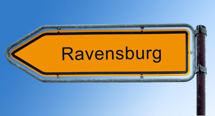 Strassenschild 7 - Ravensburg
