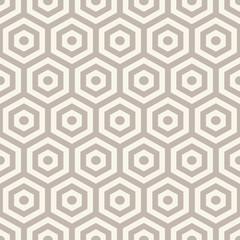 Hexagons texture. Seamless geometric pattern.