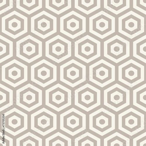 Fototapeta Hexagons texture. Seamless geometric pattern.