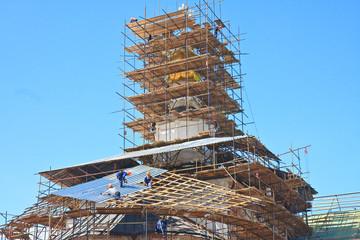 Restoration of the Church of the Nativity. New Jerusalem Monaste