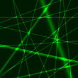 Green laser background