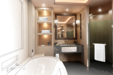 Luxury Bathroom (project)