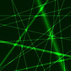Green laser background