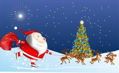 Mikołaj przybywa,