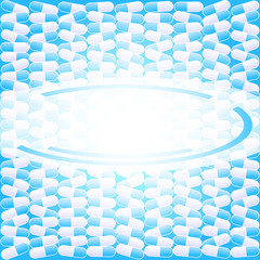 packaging-of-tablets-capsules-background-blue-label