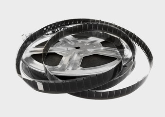 The coil with the motion picture