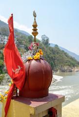 Hindu temple of god Shiva