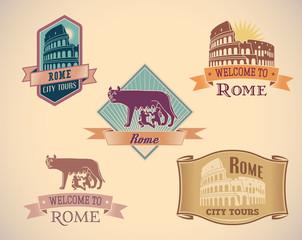 Rome labels