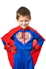 Super Hero Boy isolated