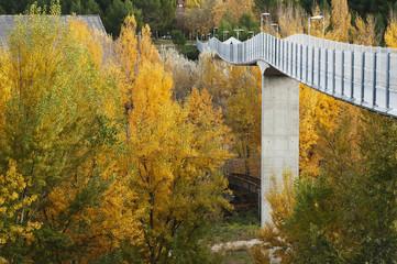 Walkbridge in Cuenca