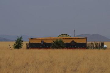 Haus in der Namib
