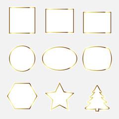 Sign, gilt frame