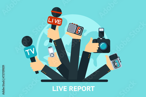 live report concept - 73709809