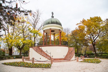 Neptune fountain, Budapest