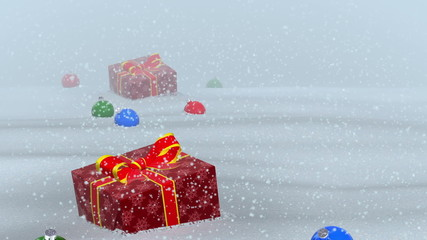 Flight gifts lost Santa (backgrounds)