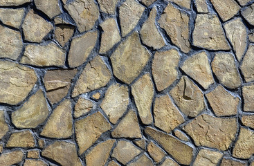 abstract background with stone wall