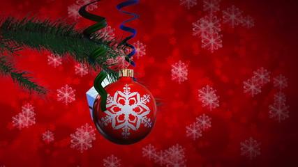 Christmas balls  rotate (backgrounds)