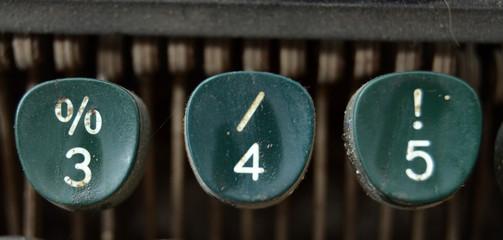 Number 3,4,5,