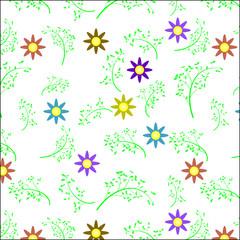 Abstract symbolic natural patterns