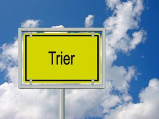 Trier - Ortsschild