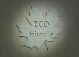 ECO Friendly - Blatt - Stoff