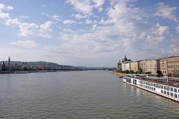 Danube river Budapest cityscape Hungary