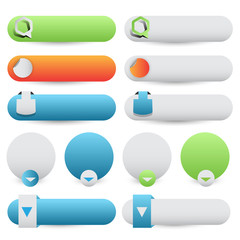 web buttons collection