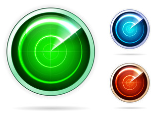 Icons for colored radar