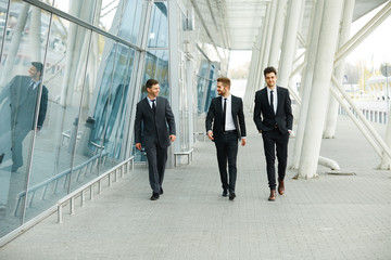 Business People Walking in the street