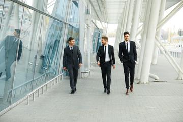 Business People Walking in the street