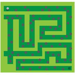 labyrinth. vector illustration