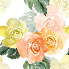 Watercolor Roses
