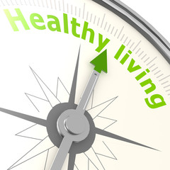 Healthy living compass
