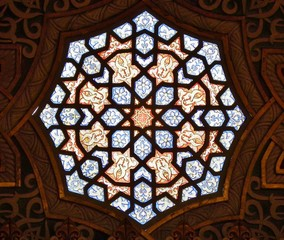 Stained Glass at Arabian Room
