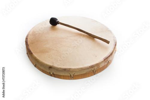 Leinwanddruck Bild shaman drum