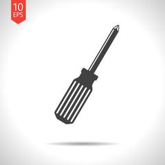 Vector phillips screwdriver icon. Eps10